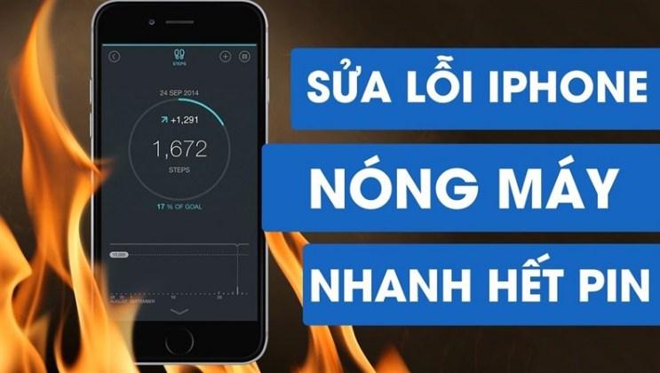 ios 14 khiến iphone nóng máy